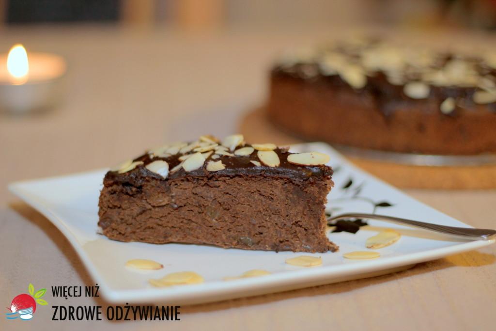 Browni czekoladowe z czarnej fasoli