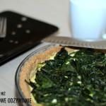 Tarta ze szpinakiem i tofu