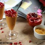 Pudding z kaszy jaglanej z dynią i jabłkiem