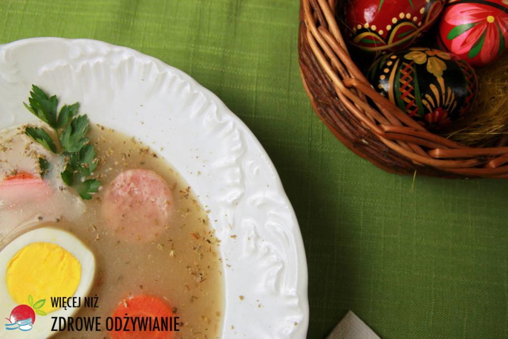 Żurek Wielkanocny na zakwasie