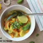 Aromatyczna zupa z dyni i cukinii