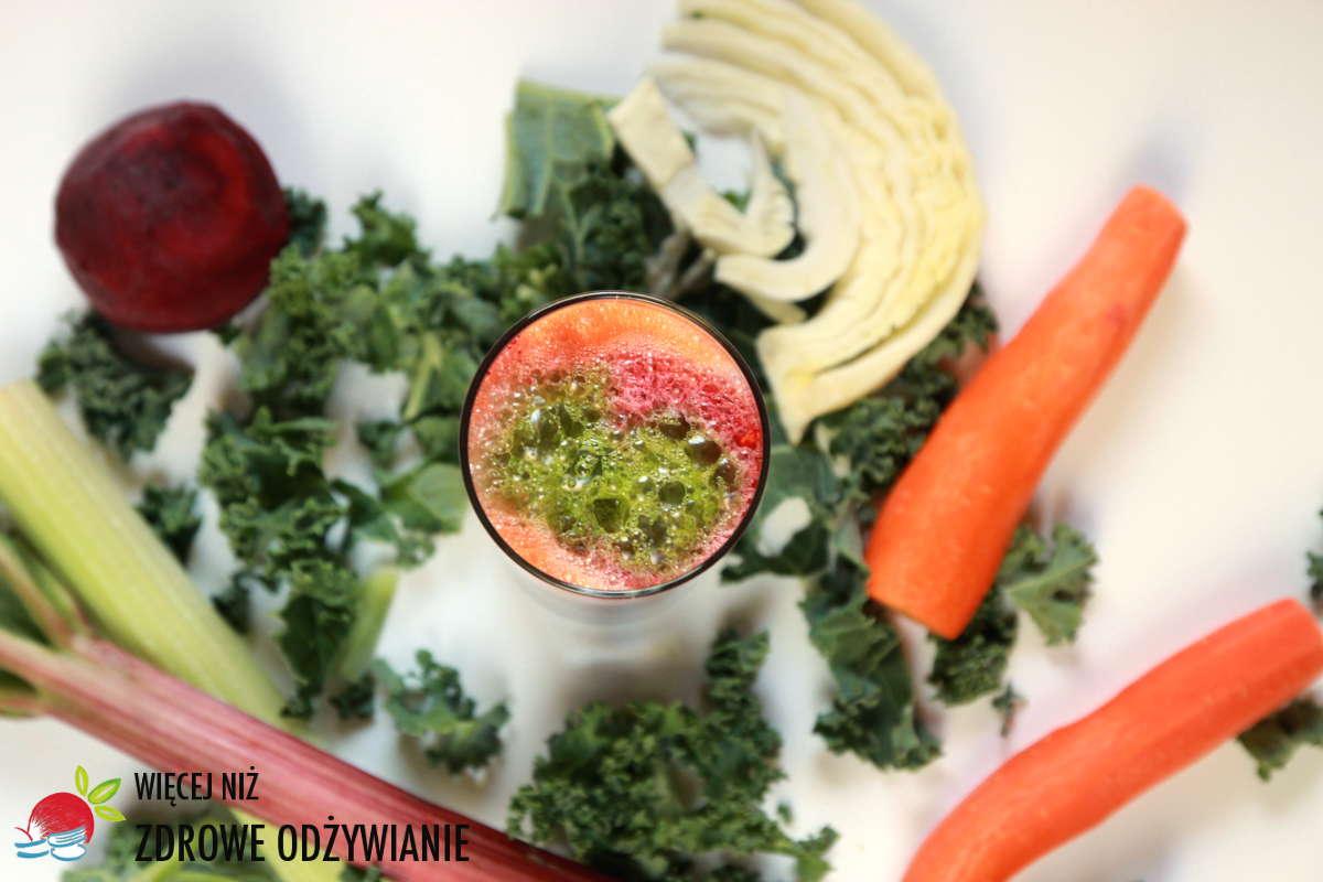 Soki warzywno owocowe