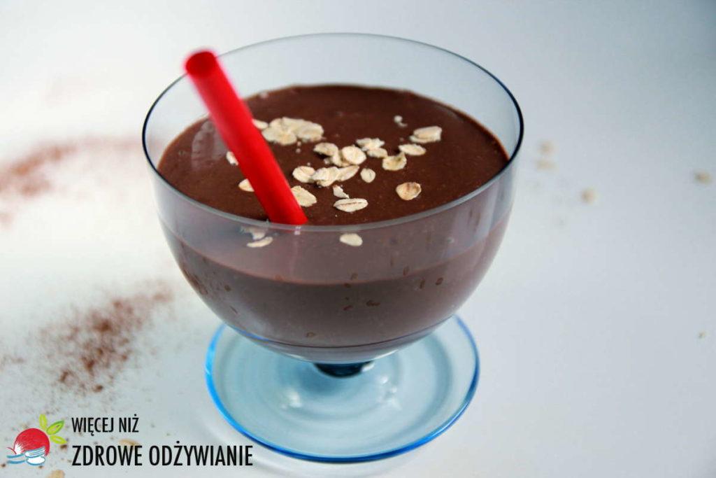 Zdrowe czekoladowe smoothie