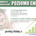 Zwiększenie poziomu energii – 5 zdrowych sposobów
