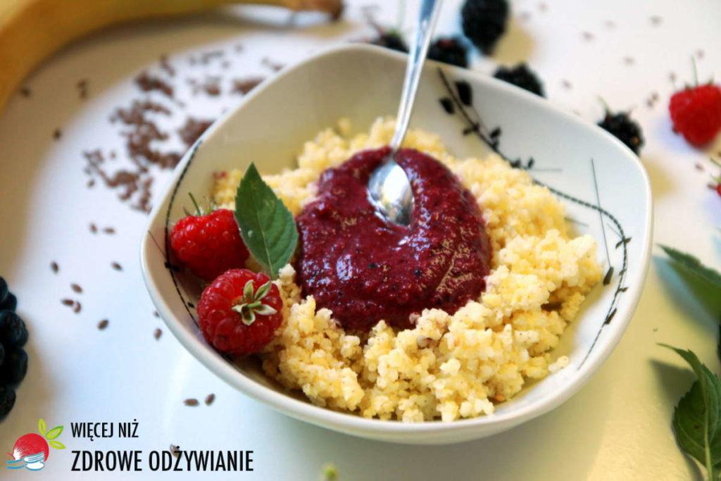 Rewelacyjny owocowy mus do śniadania