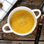 Smakowita zupa z dyni i kiszonych ogórków