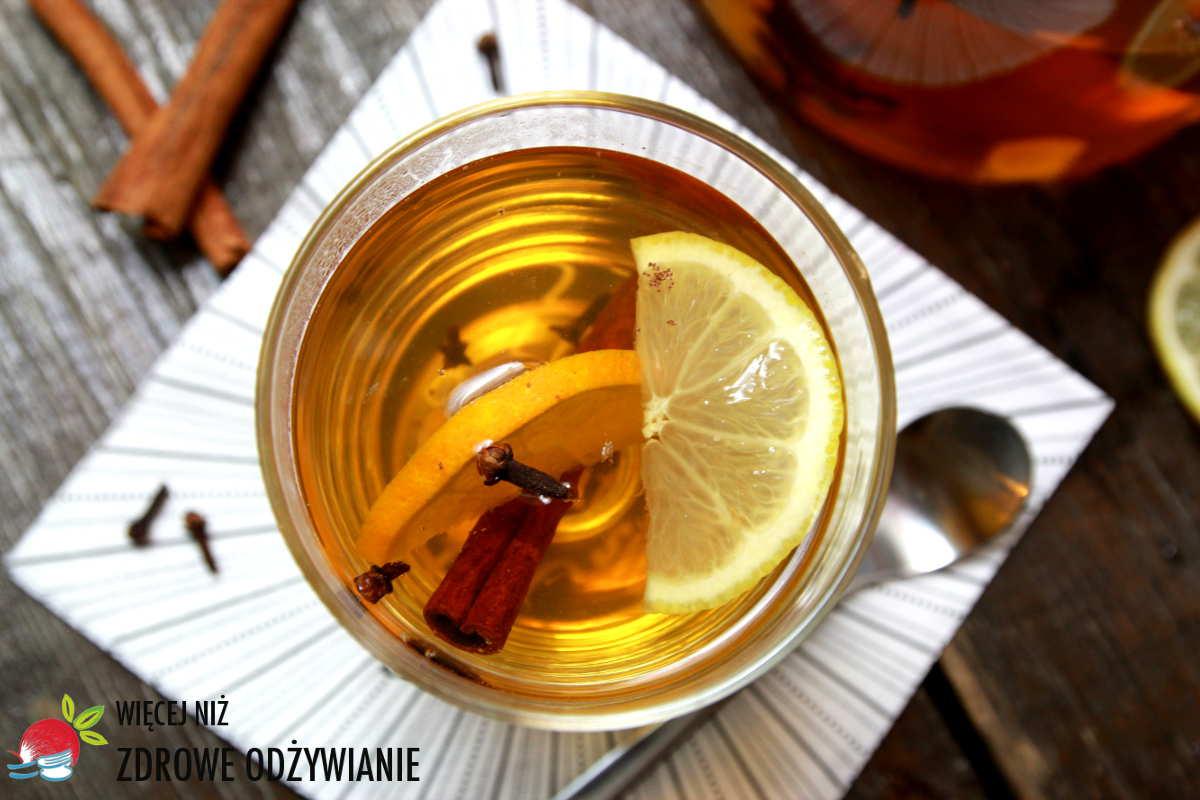 Rozgrzewająca herbata korzenna
