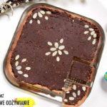 Wielkanocny mazurek czekoladowy