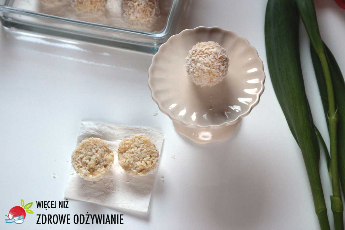 Boskie ciasteczka jaglane z kokosem