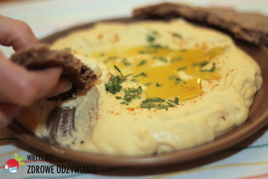 Kremowy hummus - bez sody
