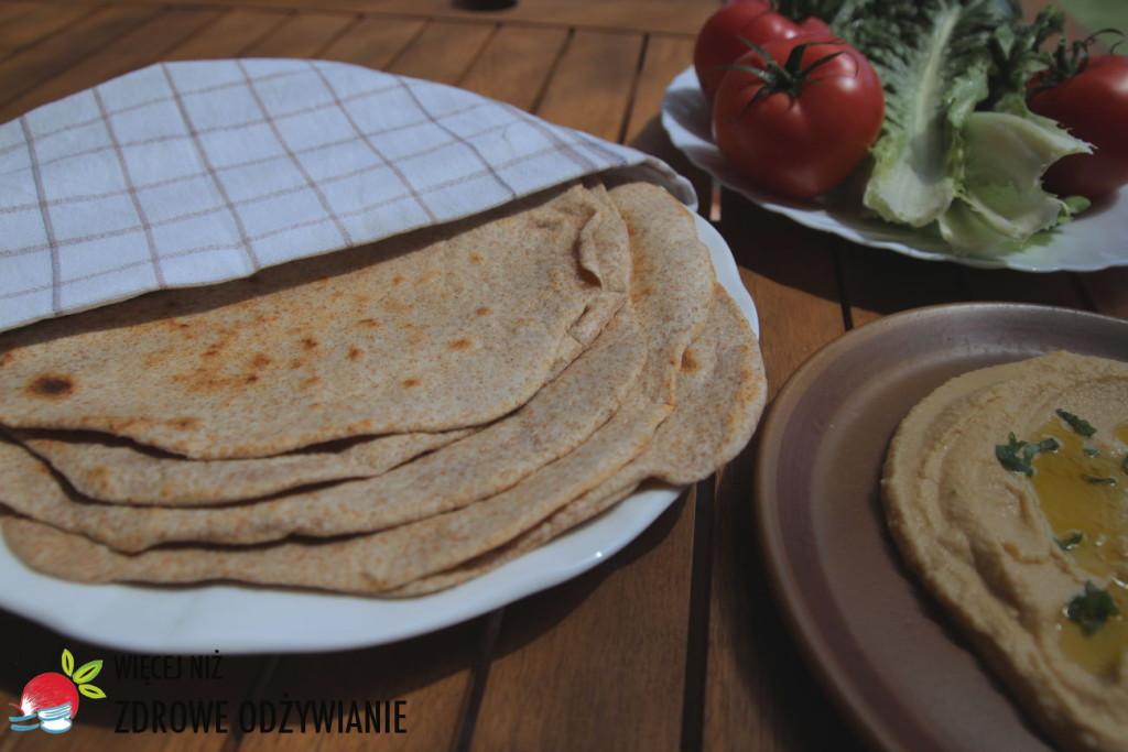 Pełnoziarnista tortilla