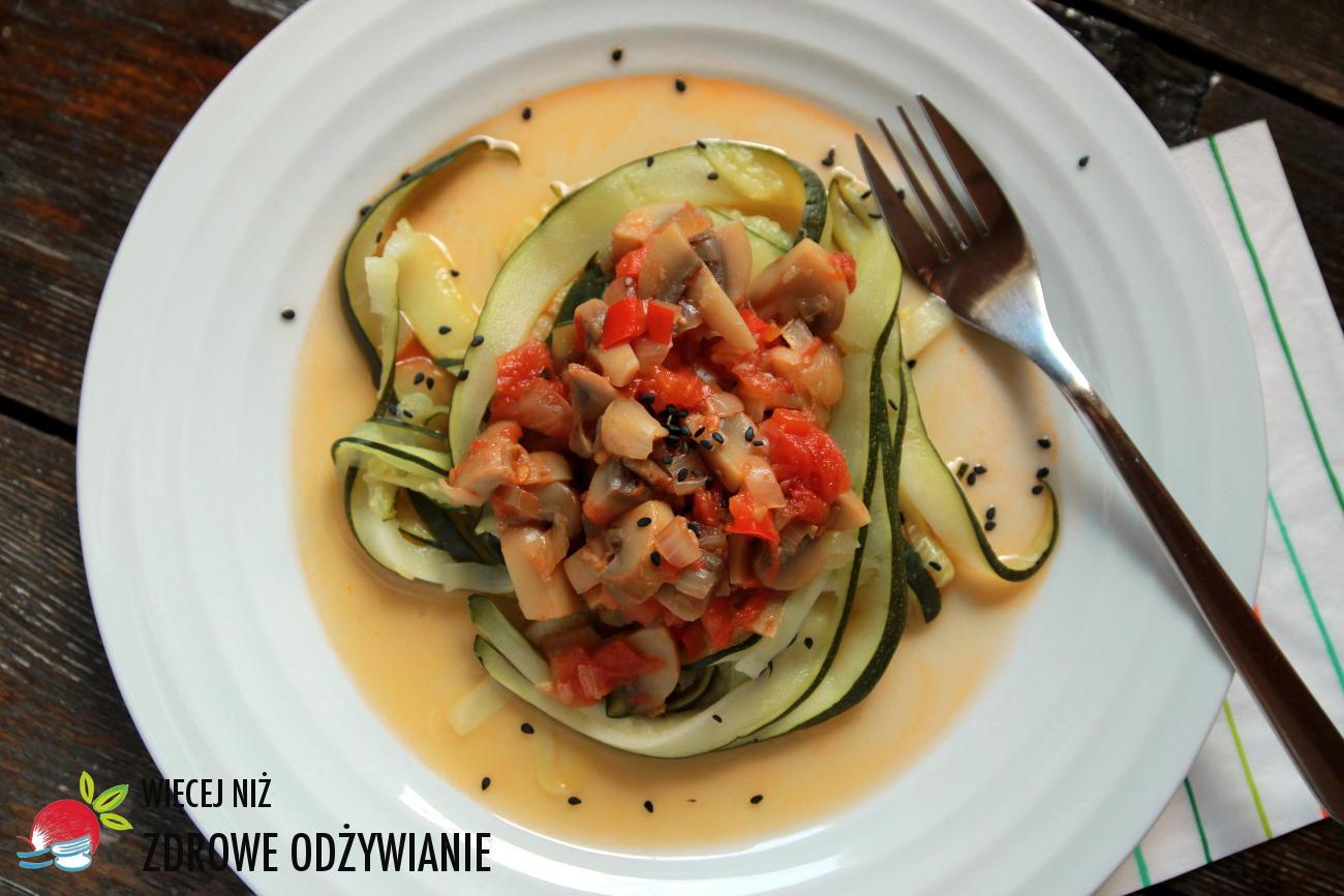 Wiecej Niz Zdrowe Odzywianie Warzywne Spaghetti Bezglutenowe I