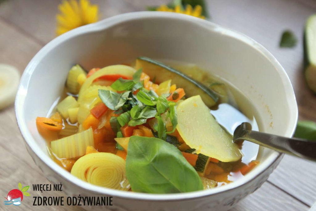 Zupa z dyni i cukinii