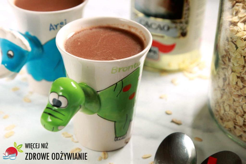 Napój owsiano-kakaowy