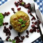 Papryki zielone faszerowane tylko warzywami