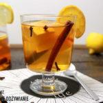 Rozgrzewająca herbata korzenna z cytrusami