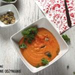 Zupa krem z batata z komosą ryżową