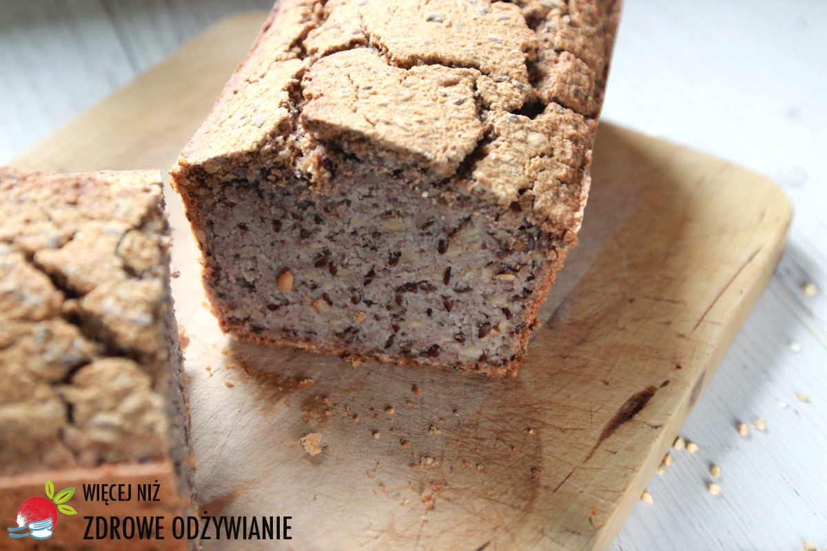 Alkaliczny bezglutenowy chleb gryczany