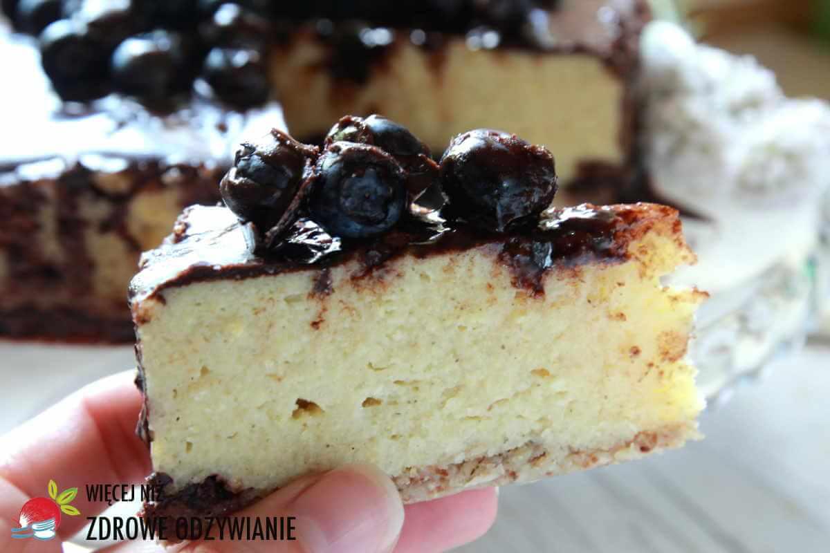 Waniliowe ciasto z kaszy jaglanej