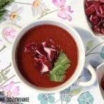 Zupa krem z kiszonych buraków