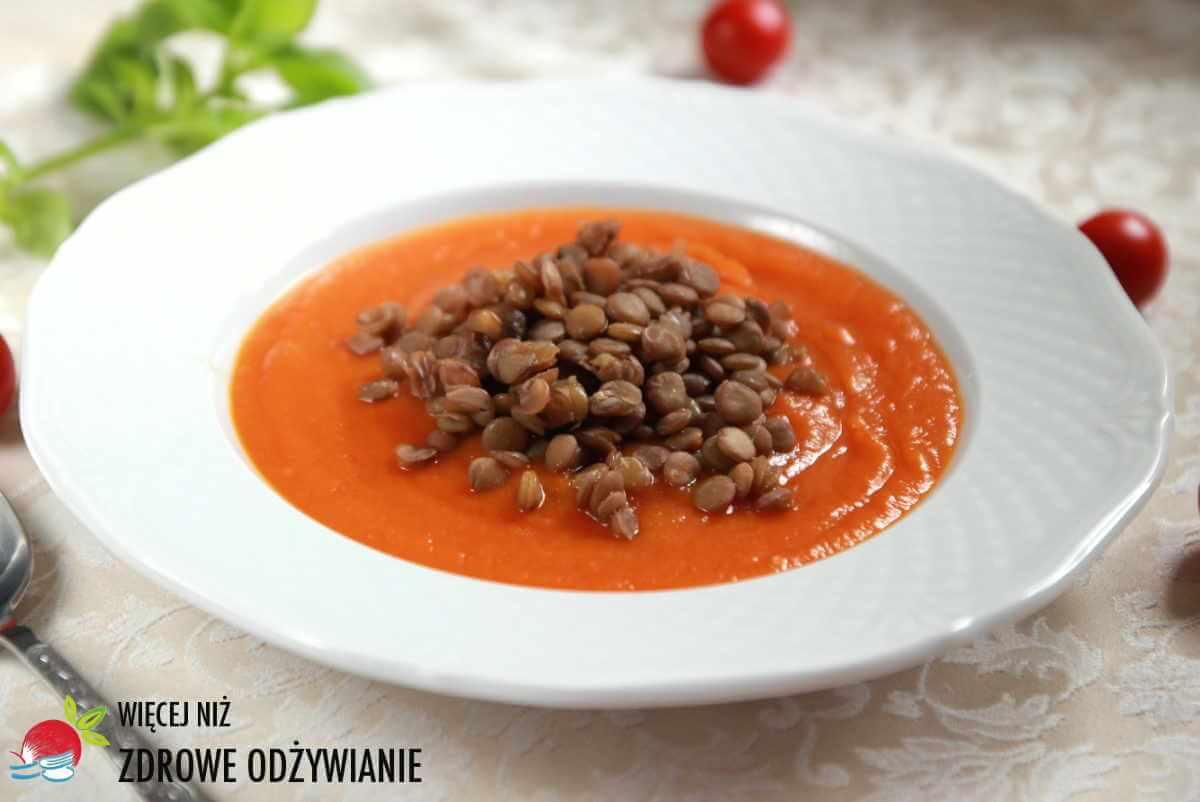 Obłędna zupa krem z trzech składników