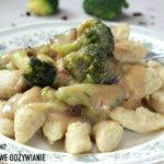 Bezglutenowy sos z brokułem