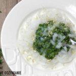 Groszkowy sos bezglutenowy z orzechami do makaronu