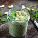 Pasta z zielonych oliwek i nerkowców