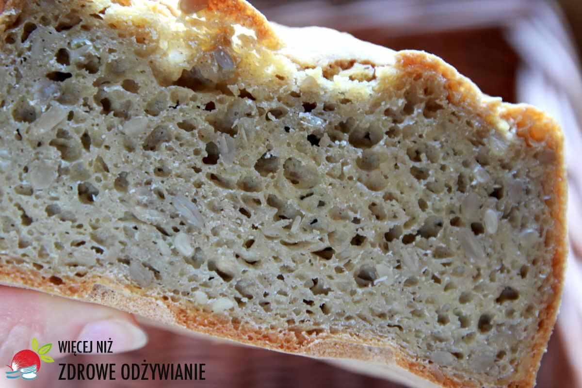 Chleb pełnoziarnisty bezglutenowy na drożdżach