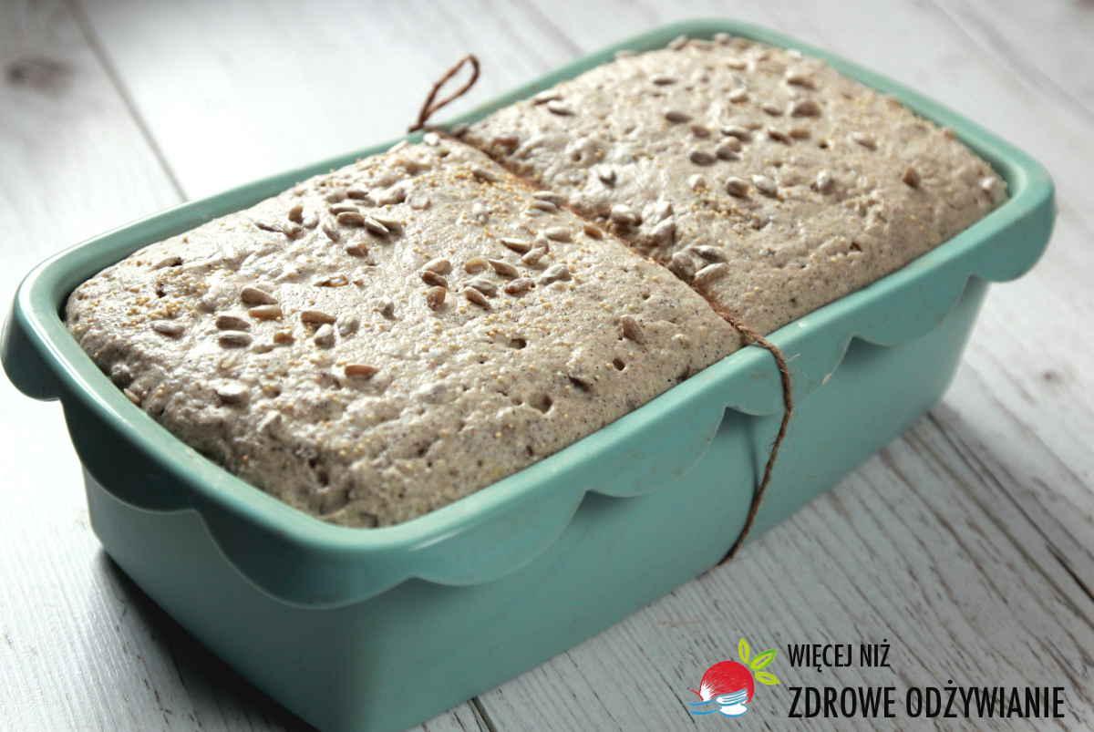 Chleb z mąki gryczanej na drożdżach