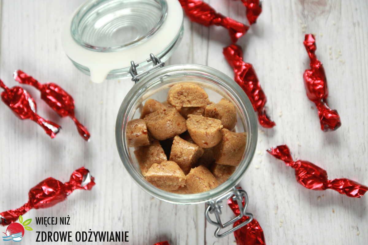 Toffiki - cukierki sezamowe z 3 składników