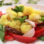 Kalafior z suszonymi pomidorami
